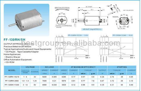 ff spec 12v dc motor specifications ff 130rh sh buy 12v dc motor