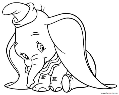 disney coloring pages dumbo 104 best disney dumbo coloring pages images on pinterest