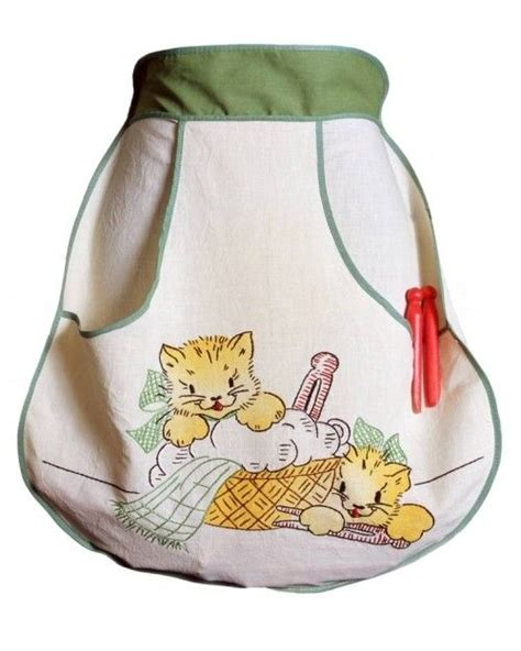 pattern clothespin apron aprons clothespins and pocket detail on pinterest