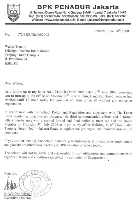Letter Of Intent Indonesia Dr Spilchuk Dr Walter Tonetto Says Isr Failed Him International Schools Review