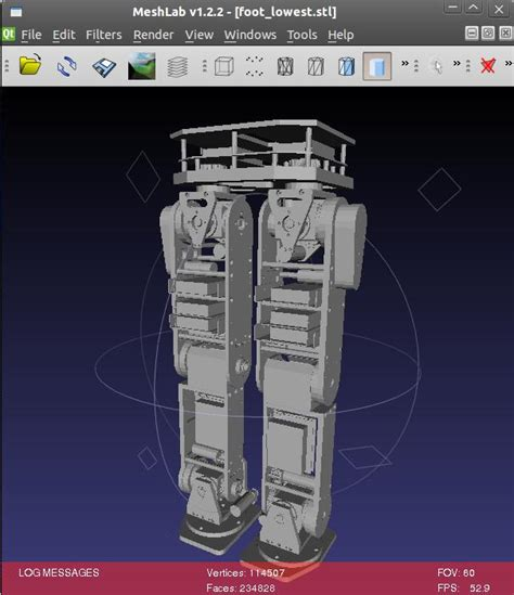 gazebo ros why import complicated stl file will caused problem on