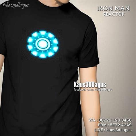 Kaos Iron kaos iron 3d kaos 3d bagus