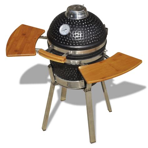 vidaxl co uk kamado barbecue grill smoker ceramic 76 cm