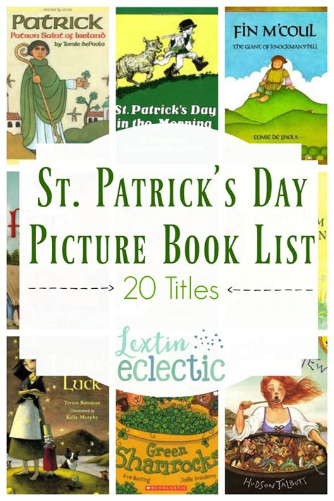 list of picture books st s day picture book list lextin eclectic