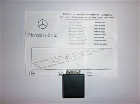 Mercedes Ipod Adapter Genuine Mercedes Ipod Charging Adapter Mercedes Ipod