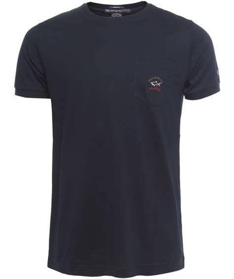 Logo Pocket Shirt Bl7888 paul shark pocket logo t shirt available at jules b
