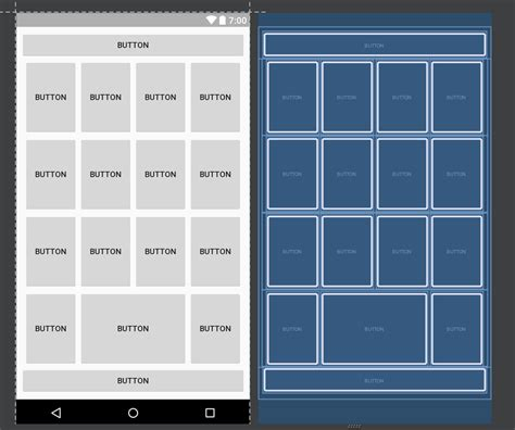 android layout marginleft android replace gridlayout with linearlayout stack
