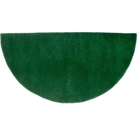 Half Circle Rugs by Pictured Is The Minuteman Nottingham Green Half