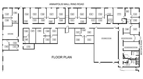 office building floor plans pdf floor plans annapolis offices at bestgate offices