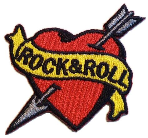tattoo patches rock n roll patch stinkin patches
