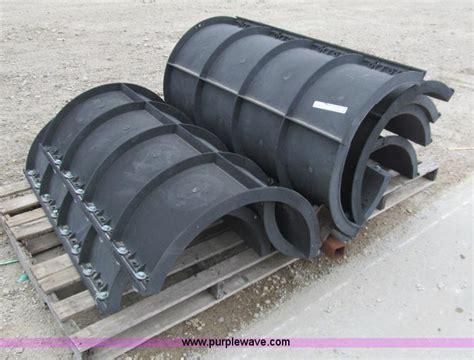 boat auction park city ks 4 sets of 24 quot diameter pipe baller concrete forms no
