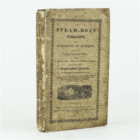 steam boat thames the steam boat companion by thames jonkers rare books