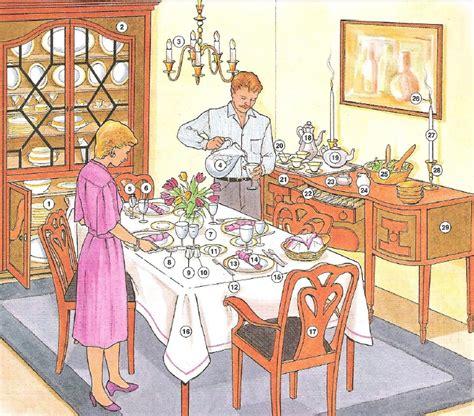 comedor escolar en ingles partes de un comedor en ingles casa dise 241 o