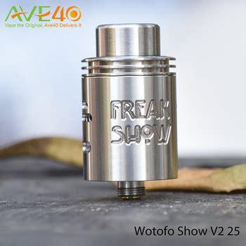 Termurah Wotofo Freakshow V2 22mm Rda Black wotofo freakshow rda v2 wotofo freakshow v2 rda 22mm stock ready for wotofo rda freakshow buy