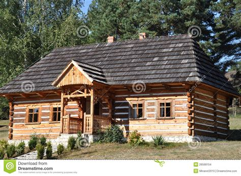 wooden cottage stock images image 26568154