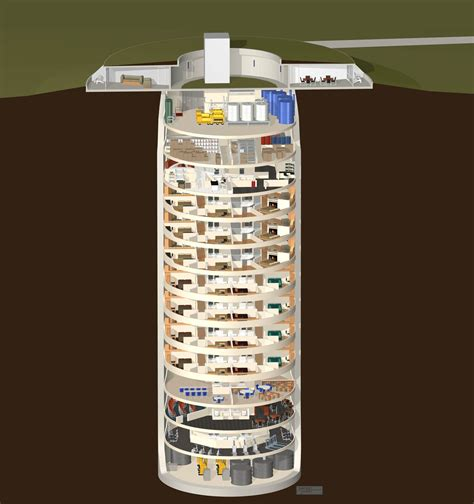 Floor Plans Secret Rooms by Luxury Doomsday Condos Business Insider