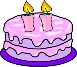 Cake Clipart Without Candles cake with 2 candles clip at clker vector clip
