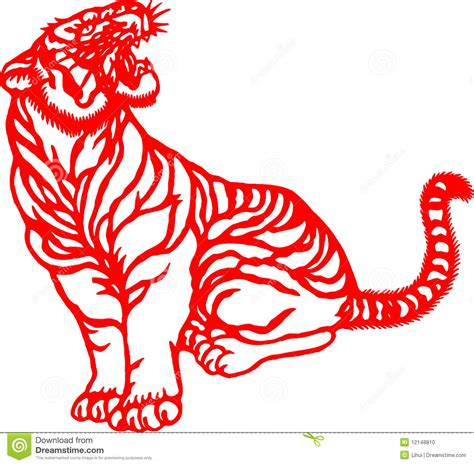 new year tiger zodiac zodiac of tiger year stock photo image 12148810
