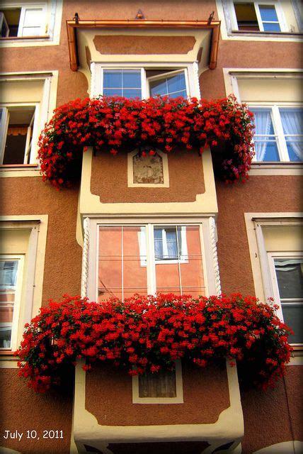balconi fioriti immagini balconi fioriti a vipiteno trentino alto adige italy