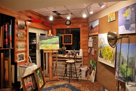 art home creative corners incredible and inspiring home art studios