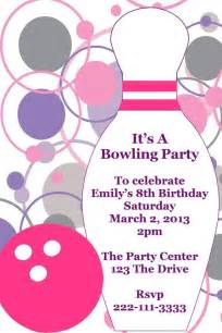 bowling birthday invitations free templates 33 best images about certificate ideas on