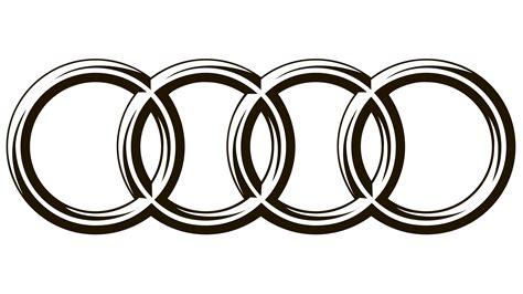 logo audi audi logo audi zeichen vektor bedeutendes logo und
