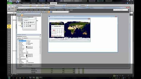 calendario vba nativo para excel 2007 2010 2013 programaci 243 n en excel 2010 c 243 mo hacer un calendario