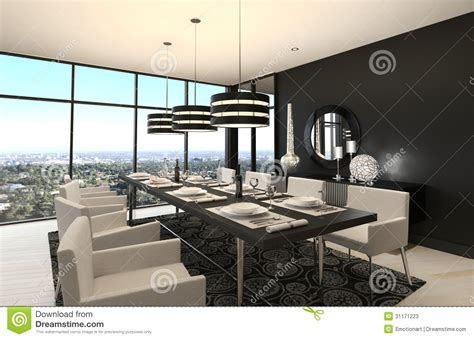 Apartment Floor Plans 3 Bedroom by Modern Design Dining Room Living Room Interior Stock Illustration Illustration Of Lamp