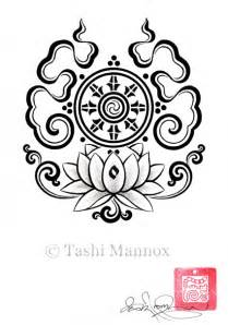 Buddhist Symbols Lotus Flower Related Tibetan Scripts August 2009