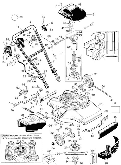 Wiring Diagram For Black And Decker Electric Lawn Mower