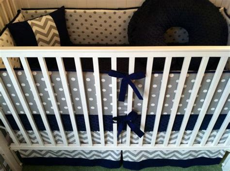 navy and white crib bedding crib bedding set gray white navy blue
