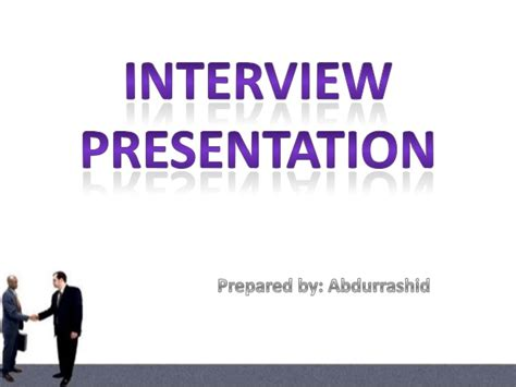 ppt templates for job interview interview presentation