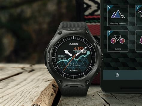 Smartwatch Casio casio smart outdoor with android wear launched at ces 2016 technology news