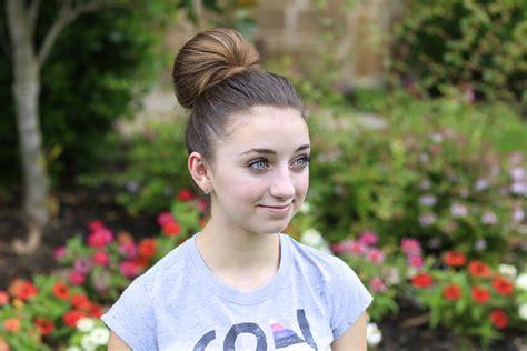 how to create a fan bun cute updos cute girls hairstyles