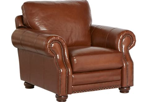 Camel Leather Recliner by Home Casa Vita Camel Leather Recliner