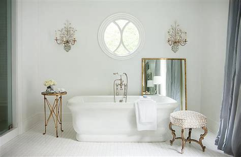 brass bathroom mirrors bathroom with mirror and brass wall sconces