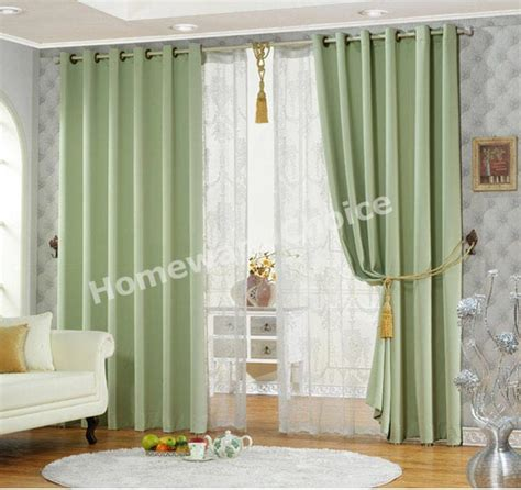 light green drapes light green curtain