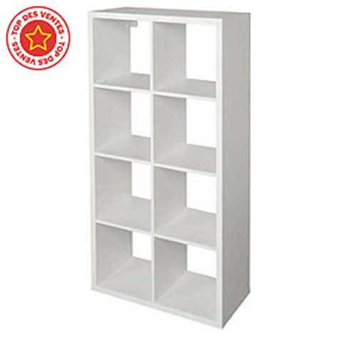 etagere 9 cases castorama 201 tag 232 re modulable 8 cases coloris blanc mixxit castorama