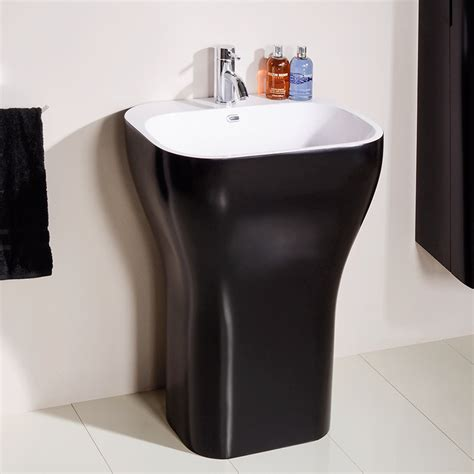freestanding bathroom basin eclipse luxury freestanding basin