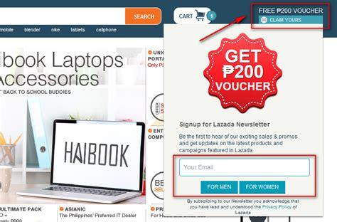discount vouchers philippines lazada voucher promotions voucher codes details and