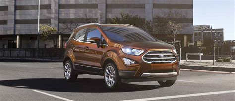 New Ford 2018 by 2018 Ford 174 Ecosport Compact Suv Capable Connected