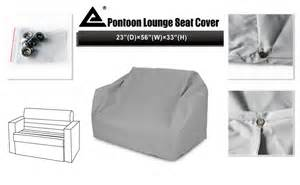 Seat Covers Rockhton Leader Accessories Pontoon Lounge Seat Cover With And