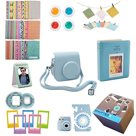 Frame Foto Box Asesoris fujifilm instax mini 9 or mini 8 instant accessories bundle 11 gift set kit