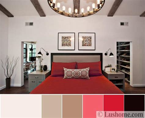 interior design bedroom color schemes modern interior design color schemes beige and red colors