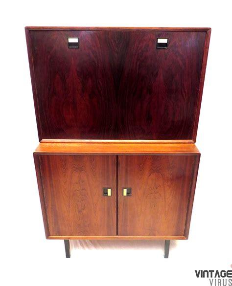 Dress Klep vintage dressoirkastje met klep secretaire