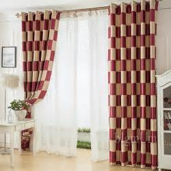 Modern Pattern Curtains Aliexpress Buy Modern Curtains And Window Treatments For Living Room Curtain