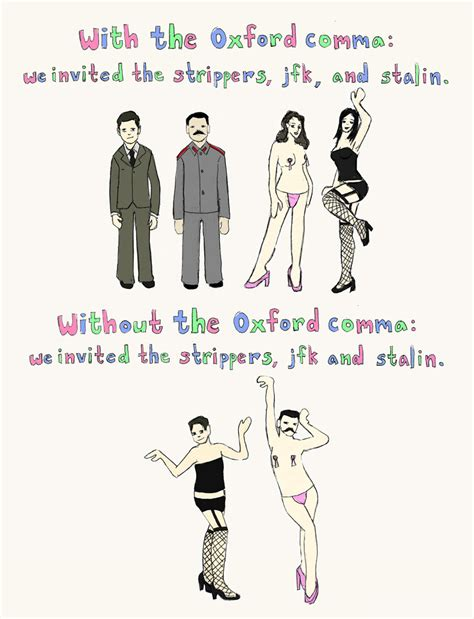 Oxford Comma Meme - ali s grammar blog
