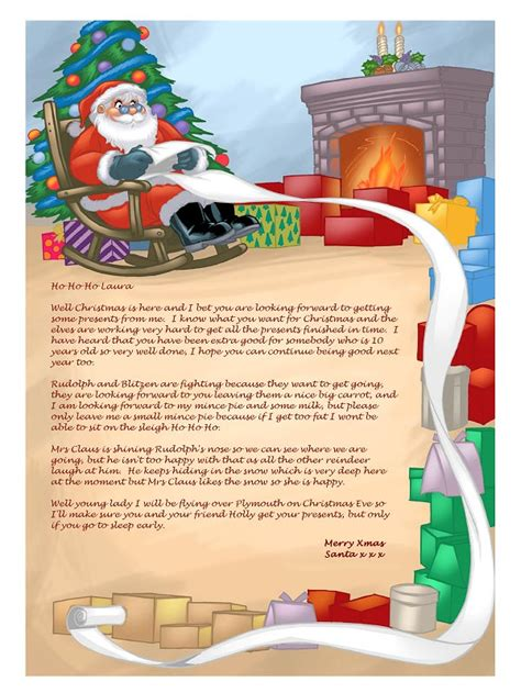 personalized letter from santa santa letter software create personalised letters from