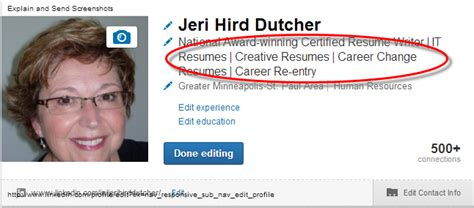Linkedin Title For Mba Seeker by Linkedin Make Your Nameplate Work For You Executive And