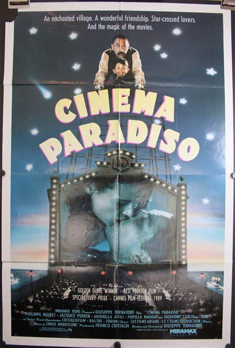 Sinensa Original cinema paradiso original italian comedy poster
